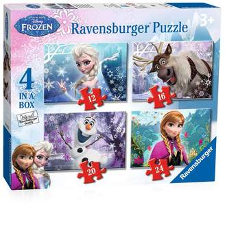 Disney Frozen 4-In-A-Box Ravensburger Puzzle