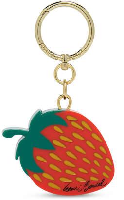 Henri Bendel Strawberry Bag Charm