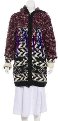 Isabel Marant Wool Knit Coat