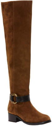 Frye Kristen Harness Over-The-Knee Suede Boot