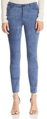 Theory Suede Skinny Pants