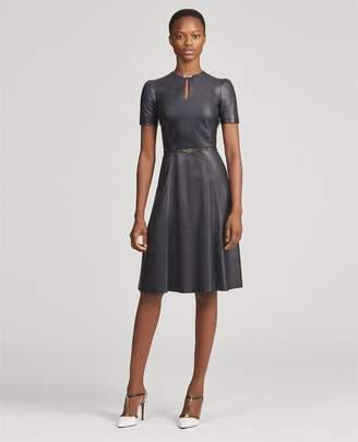 Ralph Lauren Farren Leather Dress