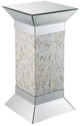 "Acme Huey 24"" Height Pedestal Stand with Beveled Mirror"