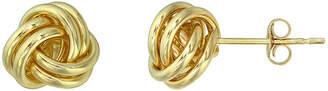 JCPenney FINE JEWELRY 14K Gold Love Knot Earrings