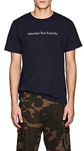 Saturdays NYC Men's Logo Cotton Jersey T-Shirt - Dk. Blue
