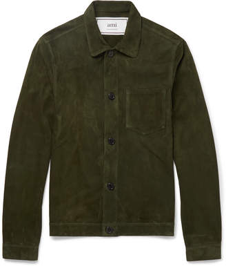 Ami Suede Shirt Jacket