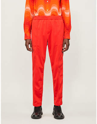 Prada Satin and jersey jogging bottoms