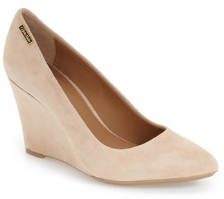 Women's Calvin Klein 'Celesse' Wedge Pump $108.95 thestylecure.com