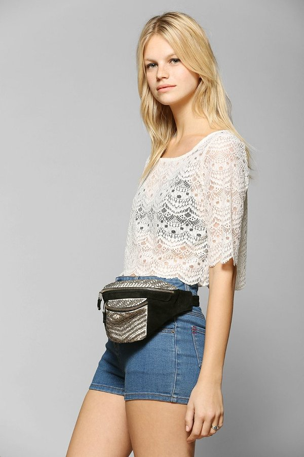 Marlow Ecote Embellished Belt Bag