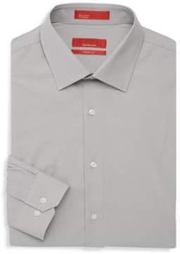 Saks Fifth Avenue RED Stretch Slim-Fit Dress Shirt