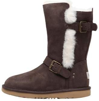 UGG Junior Girls Magda Classic Boots Chocolate