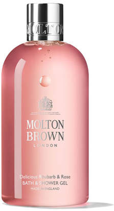 Molton Brown Delicious Rhubarb & Rose Bath & Shower Gel, 10 oz./ 300 mL