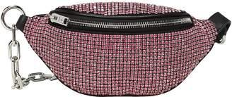 Alexander Wang Attica Rhinestone-Embellished Mini Fanny Bag