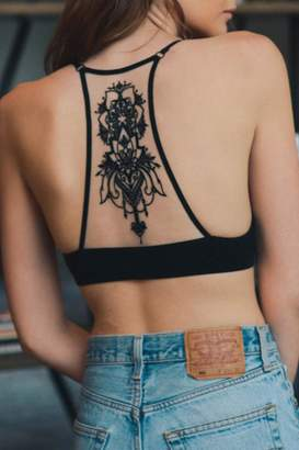 Wild Lilies Jewelry Tattoo Racerback Bralette