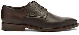 Lanvin Contrast-leather derby shoes