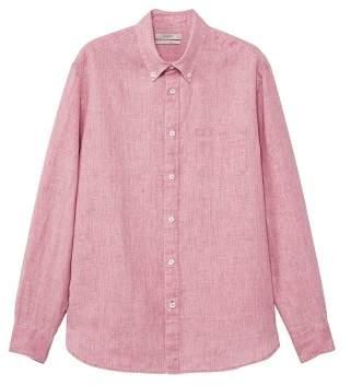 Mango man MANGO MAN 100% linen regular-fit shirt
