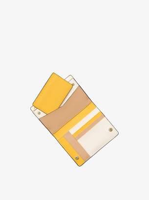 MICHAEL Michael Kors Jet Set Medium Saffiano Leather Slim Wallet