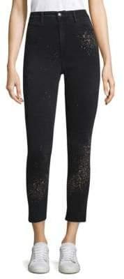 Joe's Jeans Paint Splatter Ankle Jeans