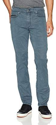 "Bugatchi Men's Five Pocket Satin Finish Cotton Stretch Pants "" Inseam"