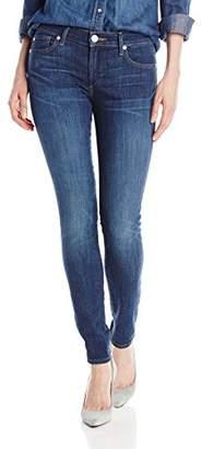 True Religion Women's Halle No Flap (Tobacco Stitch) Slim Jeans,(Manufacturer Size:23/32)