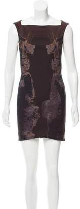 Kimberly Ovitz Printed Sleeveless Dress