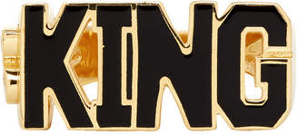 Dolce & Gabbana Gold King Ring