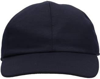 Ermenegildo Zegna Blue Wool Hat
