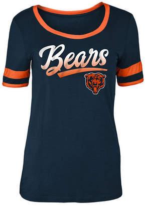 5th & Ocean Women's Chicago Bears Rayon Scoop T-Shirt