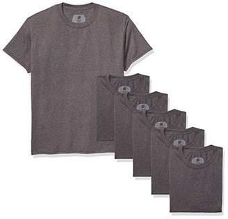 6268334a3e25 Hanes Men's ComfortSoft Short Sleeve T-Shirt (6 Pack)