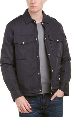 Moncler Down Short Military Jacket