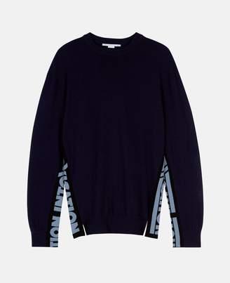 Stella McCartney intoxication blue sweater