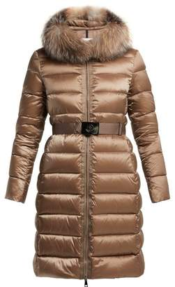 Moncler Tinuviel Quilted Down Coat - Womens - Bronze
