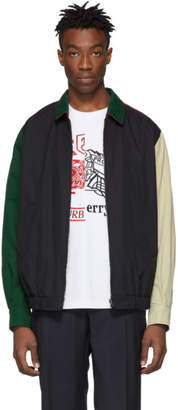 Burberry Reversible Multicolor Colorblock Cadshaw Jacket