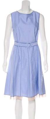 Marc Jacobs Sleeveless A-Line Dress