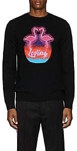 "Valentino Men's ""Loving"" Wool-Cashmere Sweater - Black"