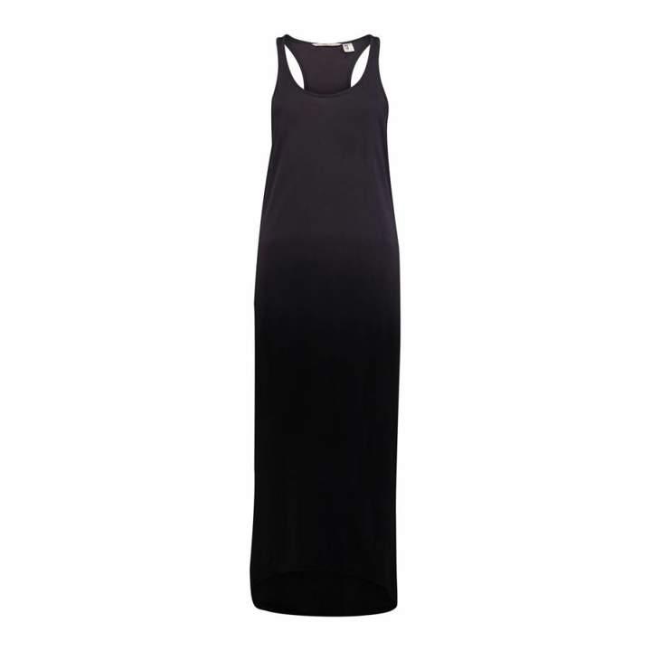 Dark Graphite Cotton Beach Bliss Dress