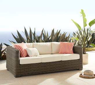 Pottery Barn Square-Arm Sofa Cushion Slipcover