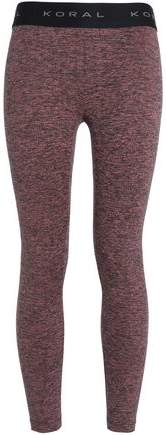 Mélange Stretch Leggings