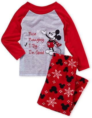 Mickey Mouse (Boys 8-20) Two-Piece Character Fleece PJ Set