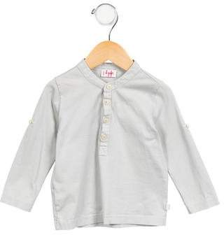Il Gufo Boys' Long Sleeve Knit Shirt