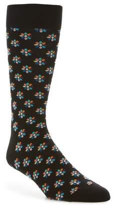 Happy Socks Mini Flower Crew Socks