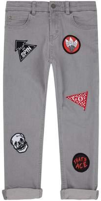Stella McCartney Lohan Patch Jeans