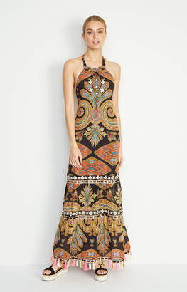 Nicole Miller Beach Blanket Maxi Dress