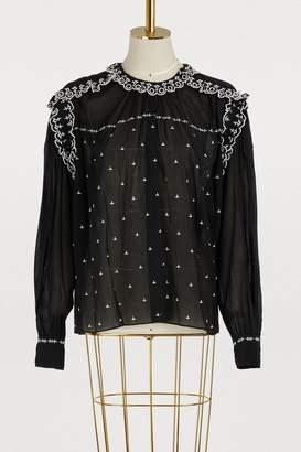 Etoile Isabel Marant Eva cotton blouse