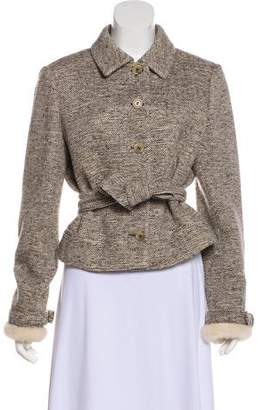 Valentino Tweed Wool Jacket
