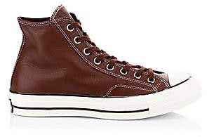Converse Men's Luxe Leather Chuck 70 High-Top Sneakers