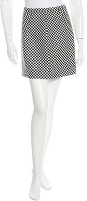 Michael Kors Checkered Wool Skirt $75 thestylecure.com