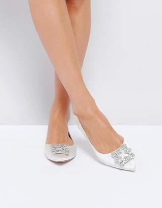 Dune Bridal Dune London Bridal Briella Embellished Flat Shoes