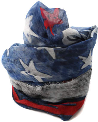 Faliero Sarti Stars and Stripes Scarf