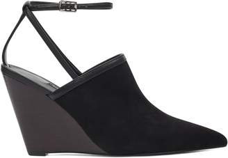 Vachya Pointy Toe Wedge Pumps
